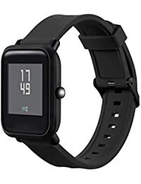 Correa de Reloj Reemplazo, YpingLonk Silicona Cómoda y Durable Doble Surco para Xiaomi Huami Amazfit