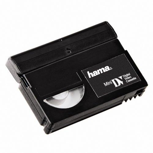 HAMA Cassetta di Pulizia Mini DV, Confezione per Gancio, Nero