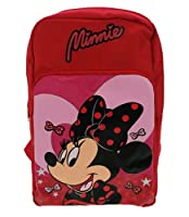 Disney Minnie Mouse Lipstick Microfiber Backpack