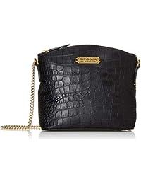 Isle Locada By Hidesign Women's Sling Bag (Black)