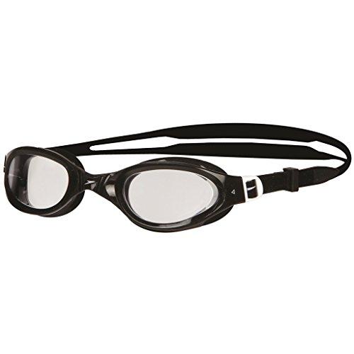 Speedo Futura Plus Occhiali Anti-Cloro, Nero, Taglia Unica