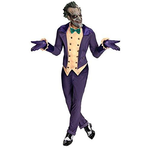 Begins Batman Kostüm - Joker Gotham City-Kostüm für Erwachsene Taille Unique