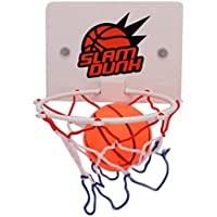 Nowakk Portable Funny Mini Basketball Hoop Toys Kit Indoor Home Basketball Fans Sports Game Toy Set For Kids Children Adults