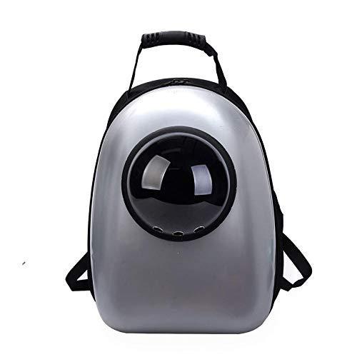 Menran Transportbox Carrier Katze Hund Rucksack, Puppy Pet Carrier Front Bag mit atmungsaktivem Head Out Design und Double Mesh gepolsterte Schulter für Outdoor L sicher Verstellbar -