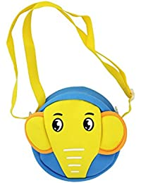 Shopaholic Attractive Baby Elephant Featured Sling Bag For Kids(Small)