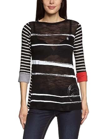 Desigual - esrar - t-shirt - femme - gris (2020) - m