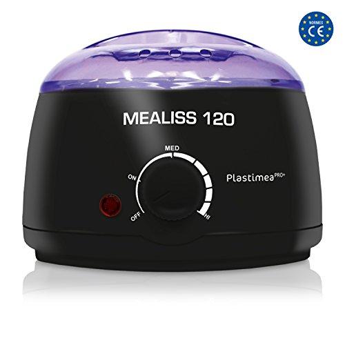 Wachswärmer, Wax Enthaarung / Wachs Haarentfernung, Wachswärmer, Wachsgerät, Brazilian WAXING , MEALISS 120, Heisswachs Körper & Gesicht - flüssiges Wachs in weniger als 5 min. (Wachs 5)