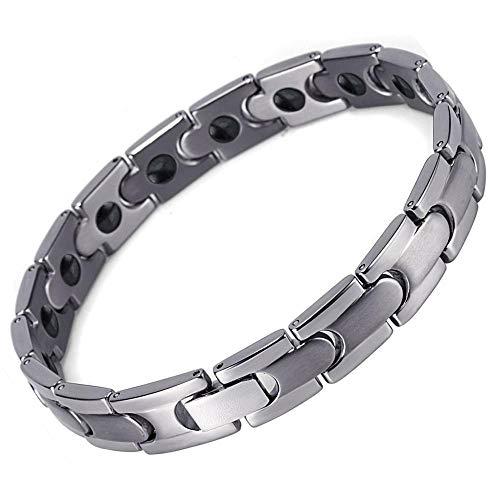 Maerye Mode Einfach Paar Armband Schwarz Stein