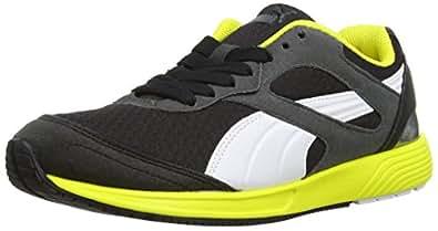 Puma Men's FTR TF-Racer Black-White-Dark Shadow Mesh Running Shoes - 10UK/India (44.5EU)