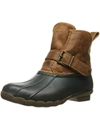 Sperry Top-Sider Shearwater botas de nieve para mujer., Marrón (Greige/Tan), 8 B(M) US