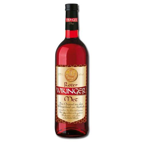 Roter Wikinger Met Behn Honigwein 6,0% Vol. in der Flasche (4x 0,75l = 3,0l Met)