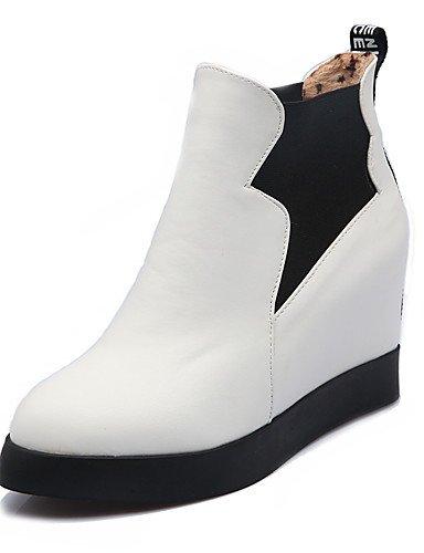 ShangYi Mode Frauen Schuhe Damenschuhe Stiefel Mode Plattform / Outdoor / Büro & Karriere / Casual Plattform OthersBlack / &12868 Rot