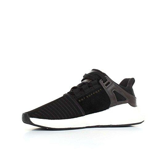 adidas Eqt Support 93/17, Scarpe da Ginnastica Uomo Nero (Cblack/Cblack/Ftwwht)