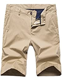 Meerway Bermudas Chino Shorts Herren Vintag Kurze Hose für Männer Sommer f3102191d3