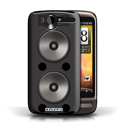 Kobalt® Imprimé Etui / Coque pour HTC Desire G7 / Moniteur Studio conception / Série Haut-Parleur dessin Double