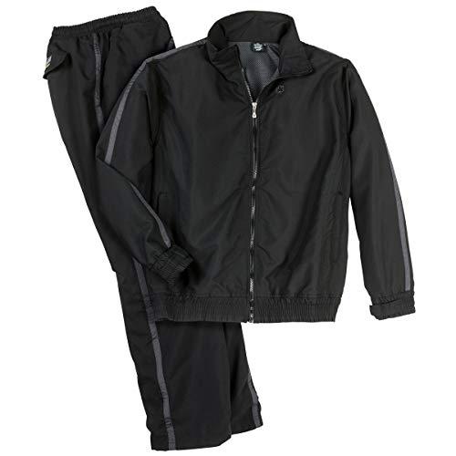 Survêtement Noir Ahorn Sportswear Grande Taille, 2xl-8xl:3xl