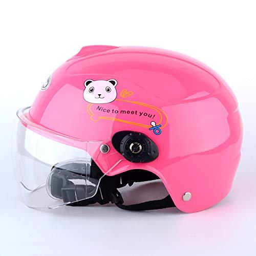 XuBa - Casco de Moto para niños y niñas