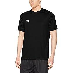 Umbro Oblivion Camiseta de Fútbol, Hombre, Negro, XXL
