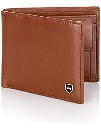 Kronenschein® Premium Geldbörse Herren Portemonnaie aus Nappa Leder Geldbeutel Männer Brieftasche RFID Schutz Wallet Portmonee Herrengeldbeutel