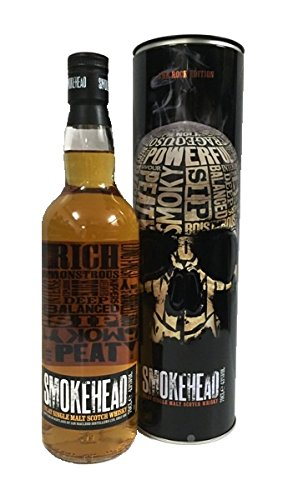 Smokehead The Rock Edition Single Malt Scotch Whisky 43% 0,7l Flasche