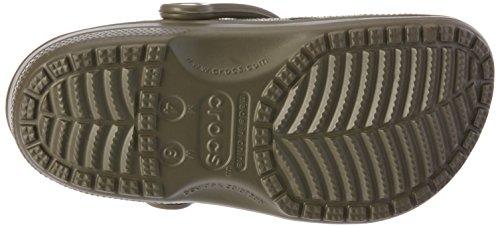 Crocs Classic Cayman, Zoccoli Unisex - Adulto Marrone (chocolate)