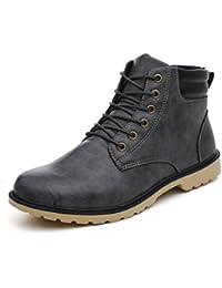 BeautyTop Sneakers Uomo Moda Uomo Scarpe Autunno Oxfords Casual Sneakers Casuale High-Top Scarpe All'aperto Retro Stivali w7j0tb