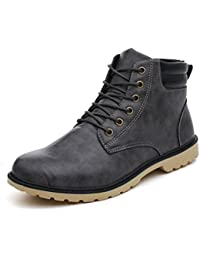 BeautyTop Sneakers Uomo Moda Uomo Scarpe Autunno Oxfords Casual Sneakers Casuale High-Top Scarpe All'aperto Retro Stivali