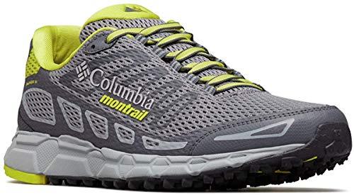 Columbia Bajada III, Zapatillas de Running para Asfalto para Hombre, Gris Monument, Zour 36, 41 EU