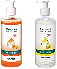 Himalaya PureHand Sanitizers - 500 ml (Orange) & Himalaya PureHands Hand Sanitizer (Lemon) - 50