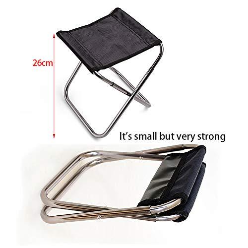 Zoom IMG-1 taozyy sgabello pieghevole portatile da