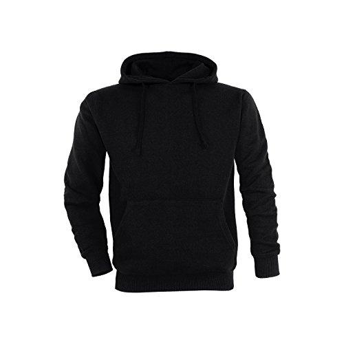 Basic Felpa con cappuccio / taglie XL / colori nero