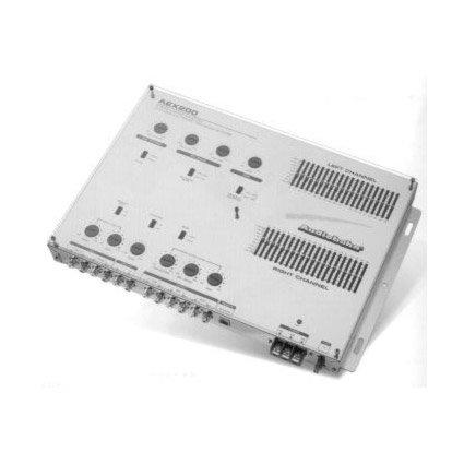Audiobahn AEX200, 20-Band Equalizer Frequenzweiche / Line Driver mit Fernbedienung (Audiobahn Auto Subwoofers)