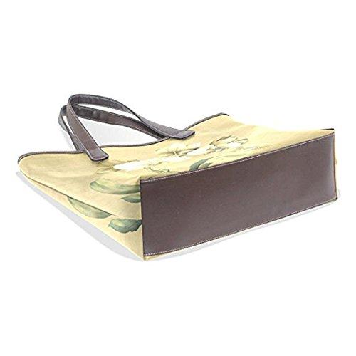 GBT Art- und Weisedame-PU-Handtasche Khaki