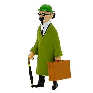 Figura de colección Tintín Tornasol con su maletín 8,5cm Moulinsart 42446 (2015) 4