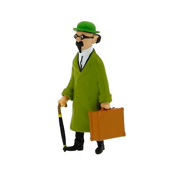 Figura de colección Tintín Tornasol con su maletín 8,5cm Moulinsart 42446 (2015) 1