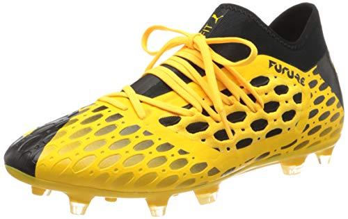 PUMA Future 5.3 Netfit FG/AG, Botas de fútbol para Hombre, Amarillo Ultra Yellow Black 03, 42 EU