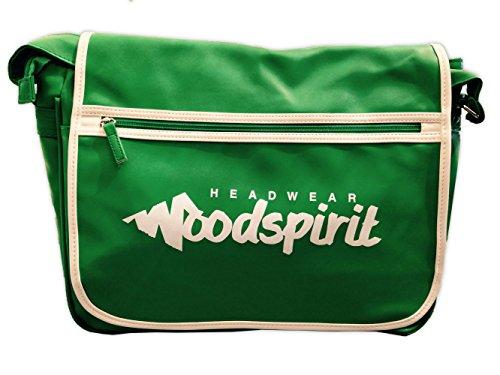 Tasche Flip Retro woodspirit grün