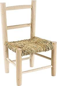 Piccola sedia in legno per bambini casa e cucina for Cucina legno bambini amazon