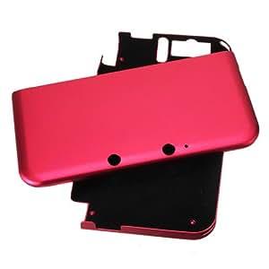 ALUMINIUM COQUE PROTECTION POUR NINTENDO 3DS XL LL vin rouge