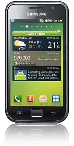 Samsung Galaxy S I9000 Smartphone (10,2 cm (4 Zoll) Super Amoled-Touchscreen, HD Video, 1 GHz-Prozessor, 8 GB interner Speicher, Android 2.2) metallic-black