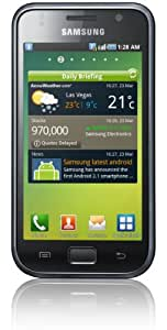 Samsung Galaxy S I9000 Smartphone (10,2 cm (4 Zoll) Super Amoled-Touchscreen, HD Video, 1 GHz-Prozessor, 8 GB interner Speicher, Android 2.2) metallic-black