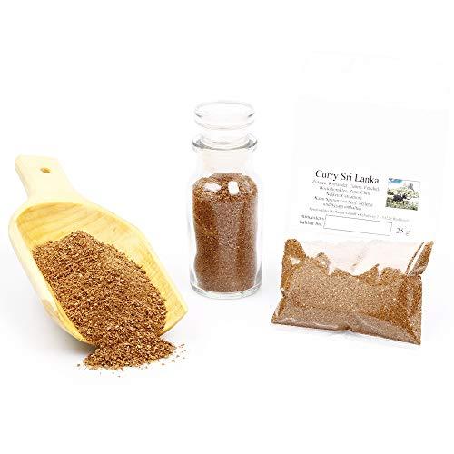 Sri Lanka Curry Gewürzmischung ohne Geschmacksverstärker | Currypulver in Premium-Qualität |...