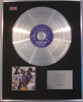 Culture Beat CD Platinum Disc Serenity
