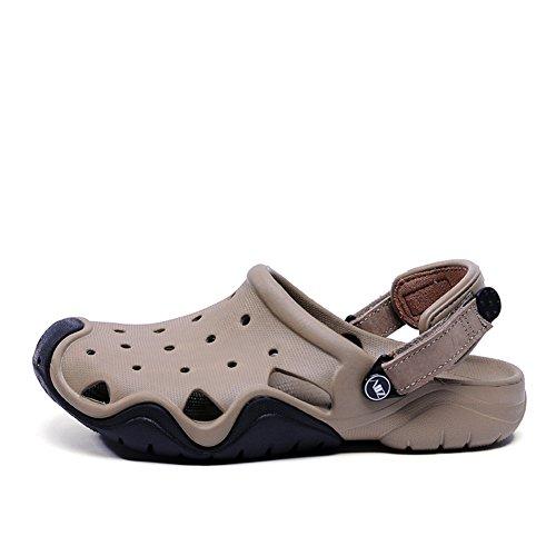 Chaussures homme trou/chaussures d'été à la plage pour hommes/Wading sandales et pantoufles C