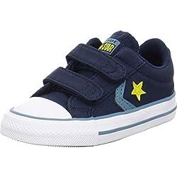 Zapatillas para niño, Color Azul, Marca CONVERSE, Modelo Zapatillas para Niño CONVERSE Star Player 2V OX Azul