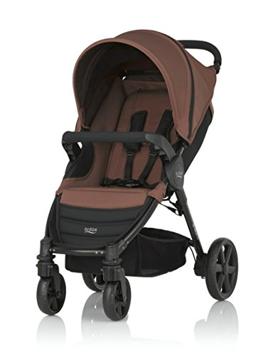 Britax B-Agile 4 - Silla de paseo, color Wood Brown