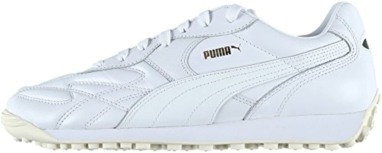 Puma Herren King Avanti Sneaker White/Team Gold
