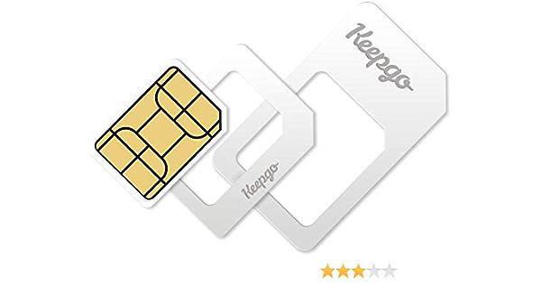 Keepgo Global Lifetime 4g Lte Data Sim Card For Europe Elektronik