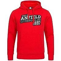 SPORTS HOODIES Offizieller Liverpool FC Anfield EST1892 Kapuzenpullover (Majestic Brand Erwachsene)