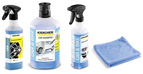 Kärcher 6.296-048.0 Felgenreiniger Premium RM 667 + Kärcher Insektenentferner 3-in1 Rm 618 6.295-761.0 + Kärcher Autoshampoo 3-in-1 RM 610 1 liter 6.295-750.0